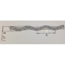Ondulé micro fin E+S